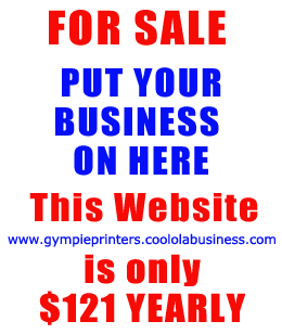 Gympie Printers for all printing needs in Gympie - Flyers, Business Cards, Stationery, Posters, Plans, Laminating .